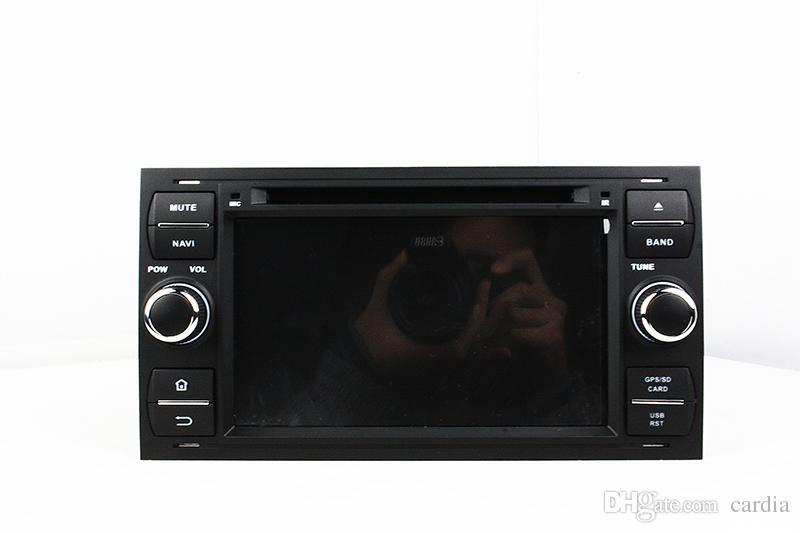 Leitor de DVD Carro para Ford FOCUS Mondeo 7 polegadas Andriod 6.0 2 GB de RAM com GPS, Bluetooth, Rádio