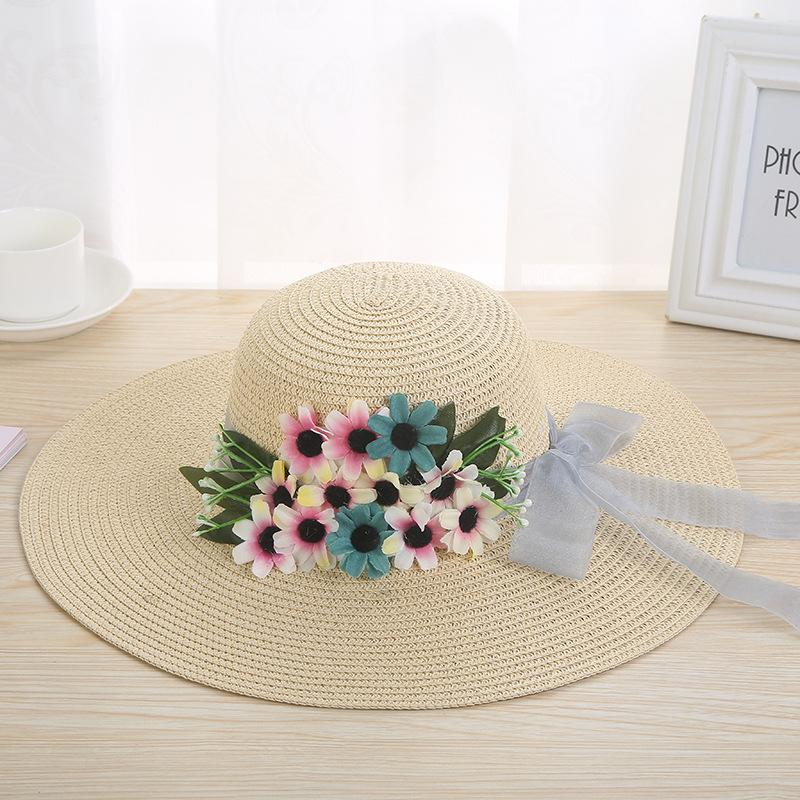 9fb83799 Hand Made Weave Straw Hats Wide Brim Summer Hats Women EleLace Bow Flower Sun  Hat Ladies Outdoor Beach Hat Floral Sun Cap Funny Hats Hat World From  Haydene, ...