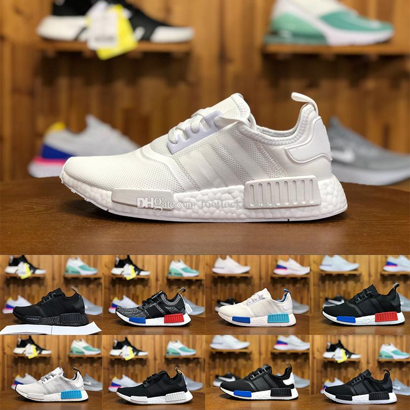 c852b4db4 2018 New Arrive Hot NMD R1 Primeknit PK Perfect Nmd Runner Running Shoes  For Women Men Nmds Primeknit Sneakers Brand Trainers Sports Shoe Canada  2018 From ...