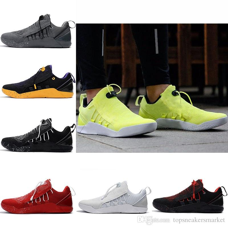 With Box KB A.D. NXT CASUAL Shoes 12 Mambacurial Mens Casual Oreo Black White Red Wolf Grey SHOES Size 40-46 free shipping sale great deals eVa9sPXS