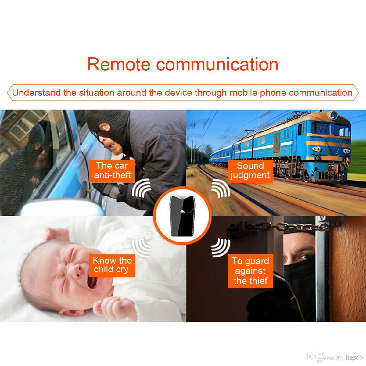 GT001 Mini localizador magnético de rastreo GPS Vehículo del vehículo Sistema de rastreo en tiempo real Dispositivo GPS Localizador GPS_103