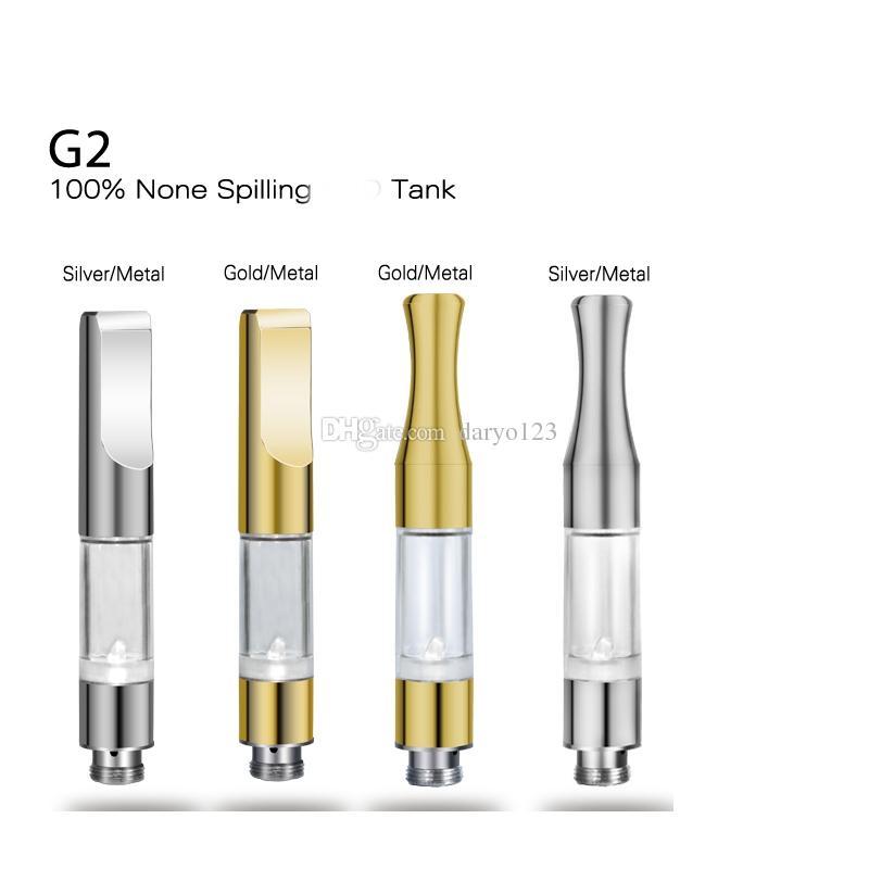 G2 BUD Touch 510 Cartridges Tank gold stainless steel drip tips WAX Thick Oil Vaporizer Atomizers CE3 O Pen vapor Mini cartomizers vape