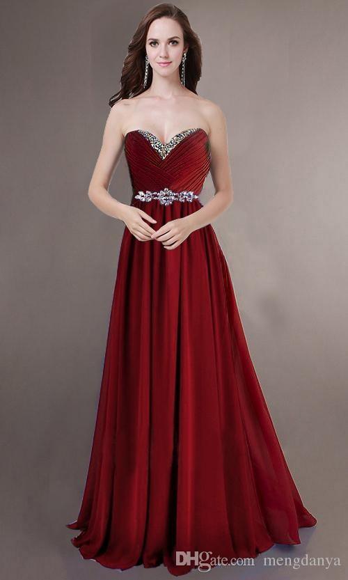Vestido de novia gasa azul real rojo amarillo vestidos de dama de honor novias sirvientas bridemaids damas maxi plus size nueva llegada m96