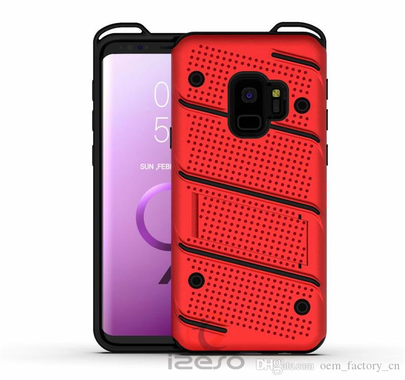 Hybrid Armor Heavy Duty Phone Case Phantom Legend Kickstand Back Cover Protector for Samsung G530 Note 9 S9 Plus ThinQ Huawei Mate 9