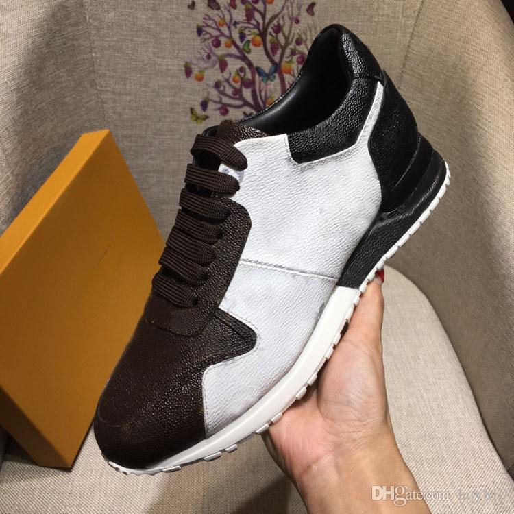 RUN AWAY scarpe da ginnastica di design di alta qualità LUXURY scarpe da ginnastica con lacci BRAND casual da uomo taglia 38-44 modello 257755514