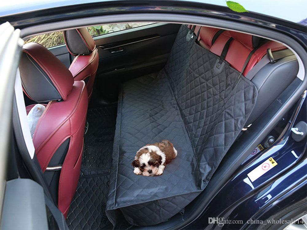 2018 washable pet hammock rear back seat car cover protector two seat dog car mats pet booster seat cushion nonslip dog car carrier wholesale from     2018 washable pet hammock rear back seat car cover protector two      rh   dhgate