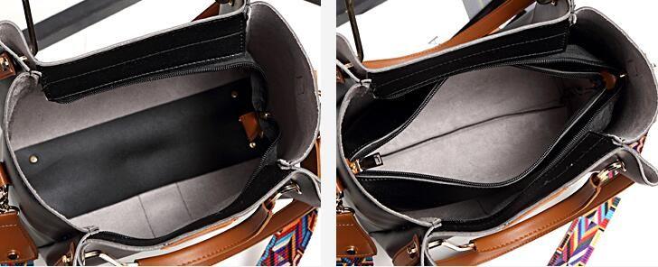 2018. New pattern. Casual fashion woman bag. A bucket bag. Handbag. Small. PU. Cross Body. Shoulder Bags. Totes. designer handbags. 02