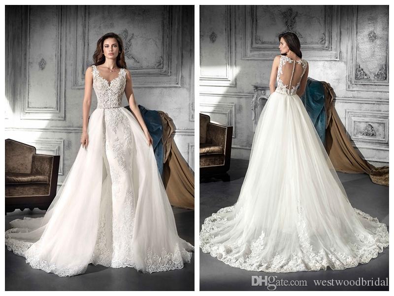 compre 2018 vestidos de novia robe de mariée demetrios 752