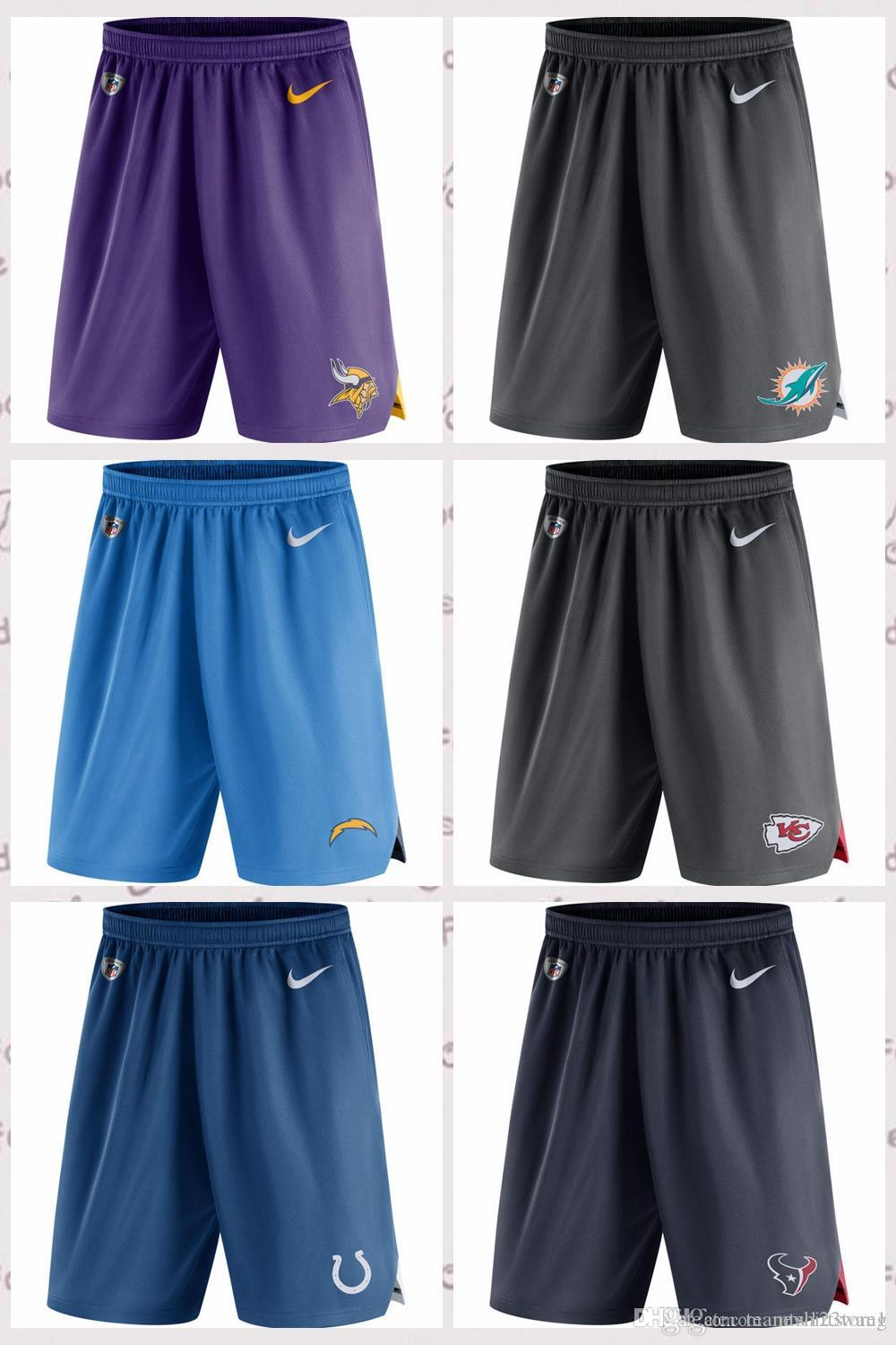 890bfedc Minnesota Vikings Miami Dolphins Los Angeles Chargers Kansas City Chiefs  Indianapolis Colts Houston Texans Knit Performance Shorts