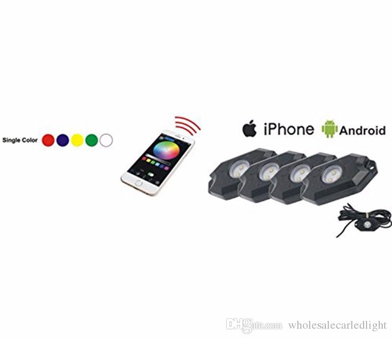 55022145a6a255 2019 RGB LED Rock Underbody Underglow Waterproof Trail Rig Neon Lights Kit  Cell Phone APP Mini Bluetooth Control For JEEP Truck From  Wholesalecarledlight, ...