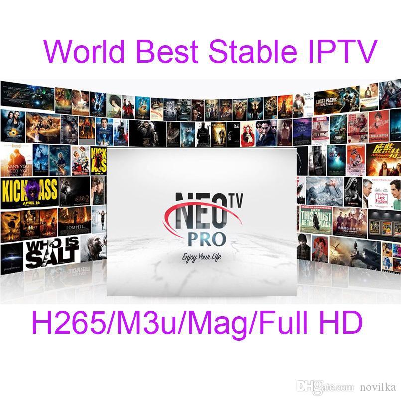 Neotv PRO 1400 Channels French IPTV Europe Arabic Belgium IPTV subscription  code LiveTV M3U Android Smart TV