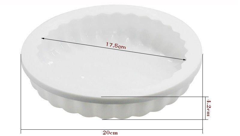 Gewelltes Brotform Non Stick Silikon Dessert Backform Backen Werkzeug Leicht Zu Reinigen 10 5bc Y R
