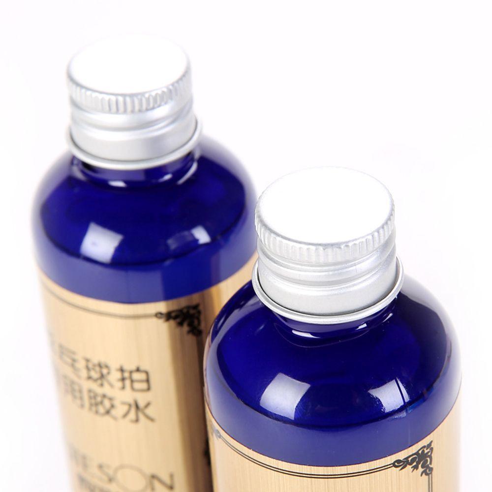 Pegamento líquido de goma de raqueta de tenis de mesa fuerte de 100 ml con cepillo Goma de ping pong Goma de tenis de mesa