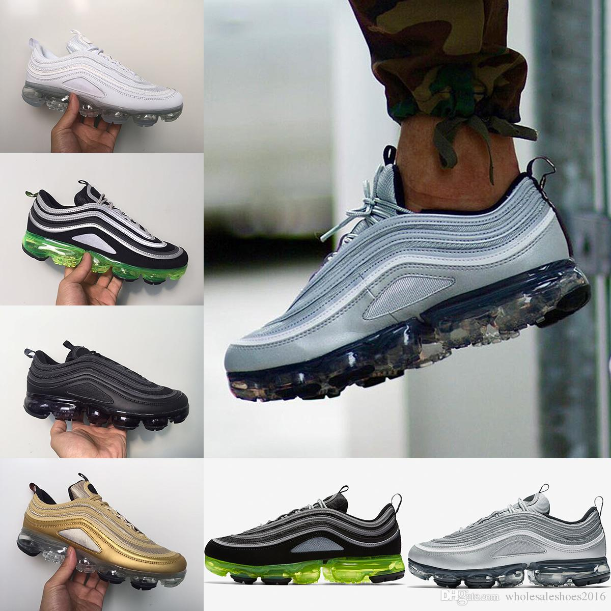 ebay cheap price 2018 Vapormax 97 Men Running Shoes Japan Silver Gold Bullet Triple White Black For Women Men Sports Casual Sneakers US 5.5-11 cheap 2014 unisex cheap collections cheap largest supplier get authentic cheap price qNSGD