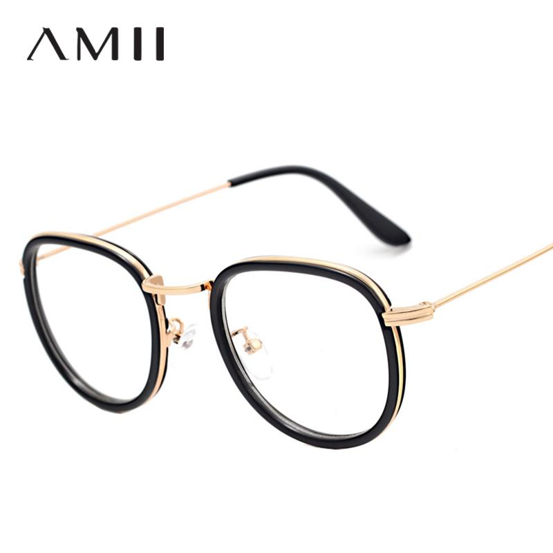 e766c6111a6 Women Myopia Alloy Glasses Fashion Harajuku Retro Round Frame ...