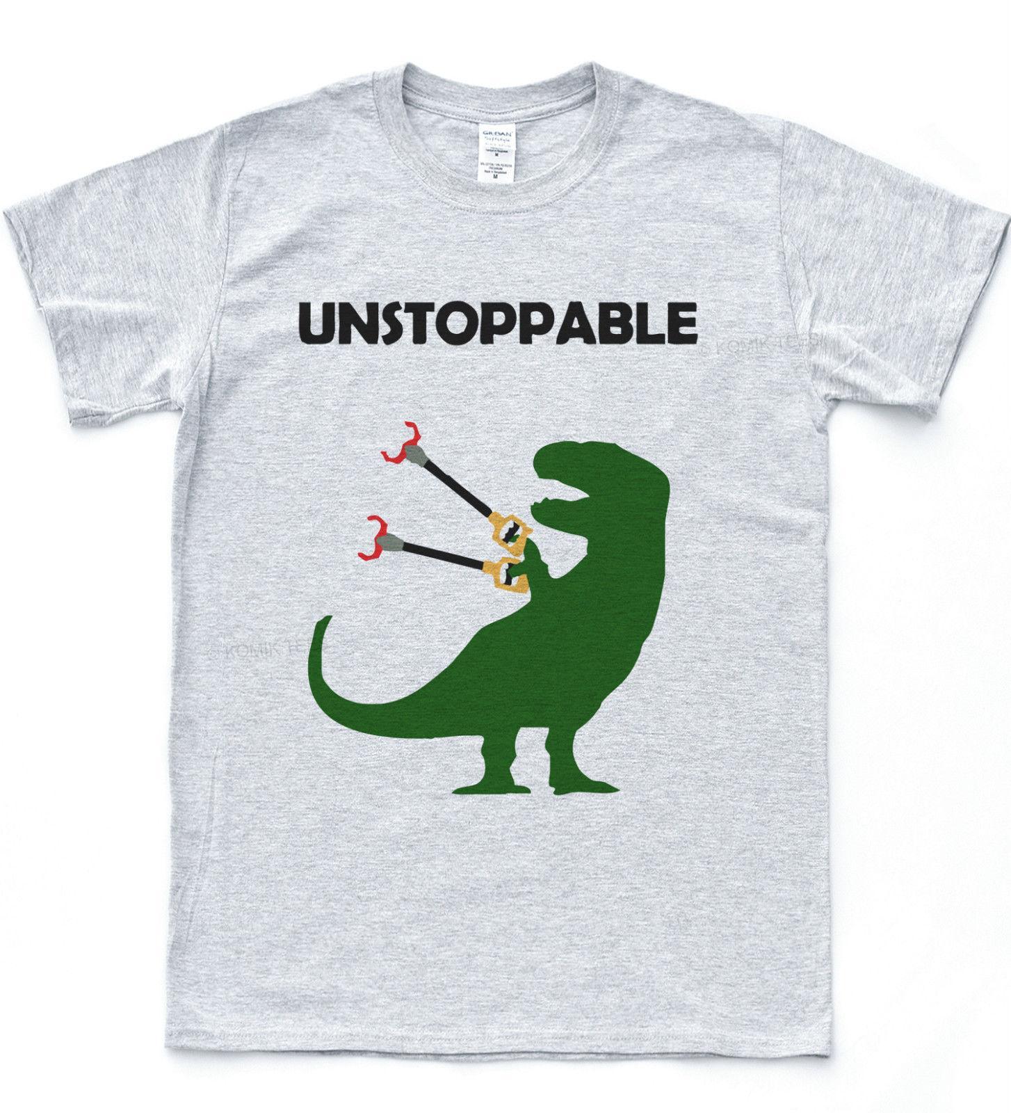 1e9610e0 Unstoppable T Rex T Shirt Funny Drawing Dinosaur Tee Dino Nature Animal  TopClassic Quality High T Shirt T Shirt Making T Shirts For Sale From  Qz2271839488, ...