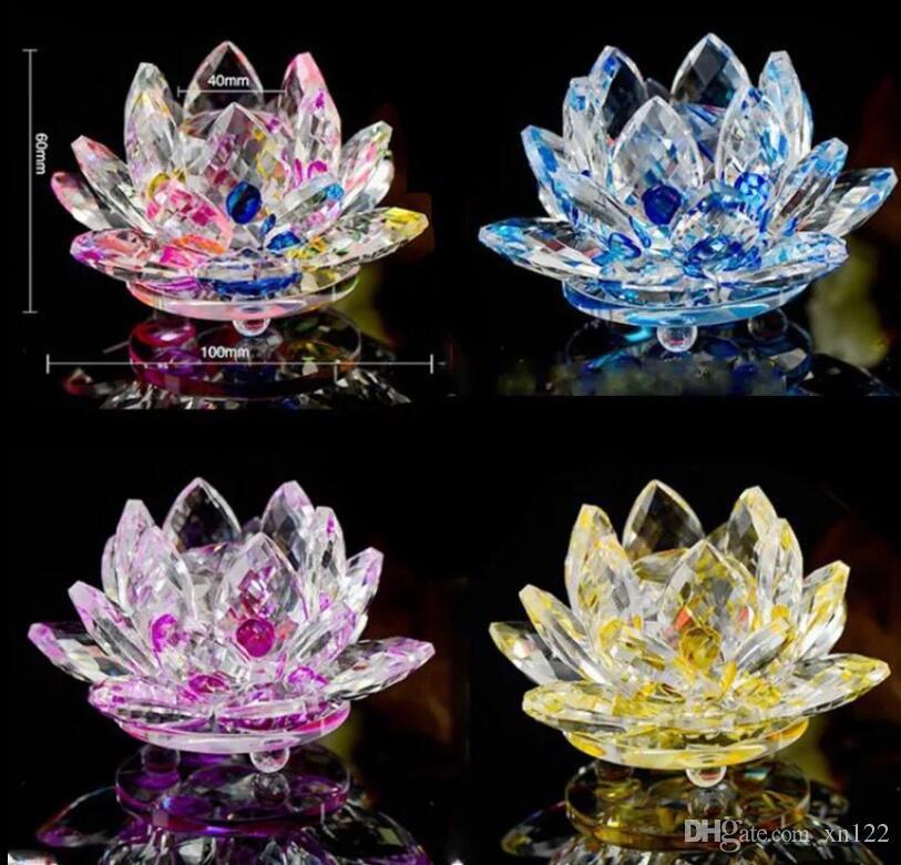 Grosshandel Kristall Lotus Dekoration Wohnaccessoires Wohnzimmer