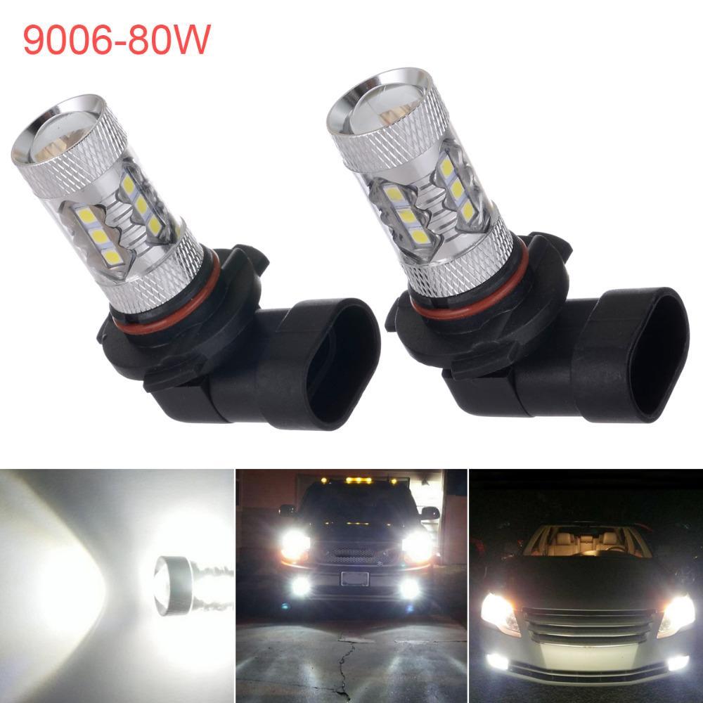 Humor 2pcs H8 H11 Led Bulb 9006 Hb4 9005 Hb3 Car Fog Lights 12v~24v 20 Smd Daytime Running Lamp Drl Auto Led Light 6000k White Excellent Quality In