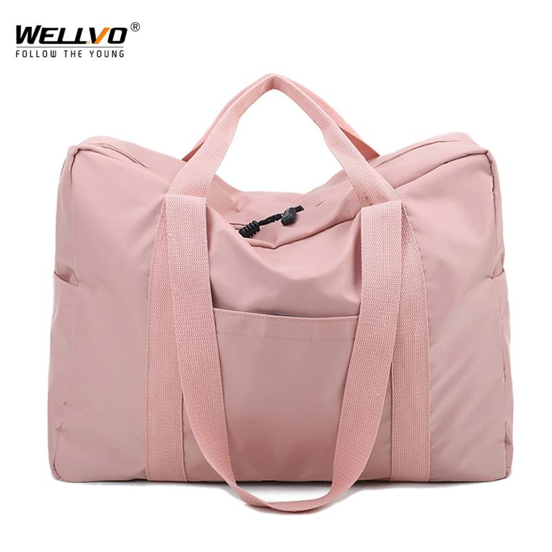 Women Travel Duffle Bags Oxford Waterproof Travel Bags Hand Luggage Big Bag  Pink Packing Cubes Men Duffel Weekend Bag XA56ZC Bags Online Shopping Travel  ... 7879c32e429e0