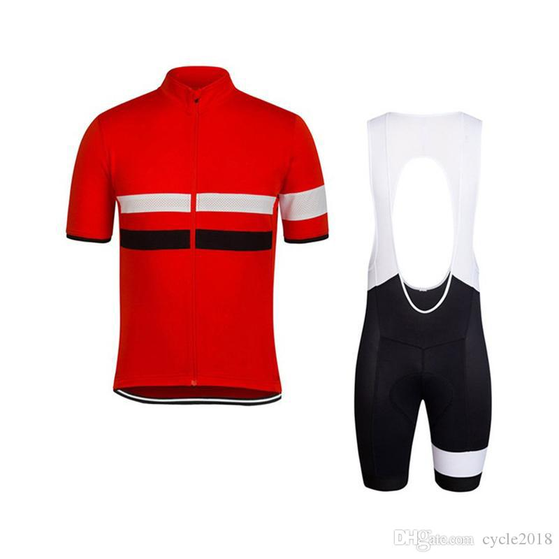 87785d98e Rapha 2018 Summer New Cycling Jersey Set Anti UV MTB Bicycle Clothing  Maillot Ropa Ciclismo Breathable Bike Wear Bib Shorts+9D Gel Pad Cycling  Clothing ...