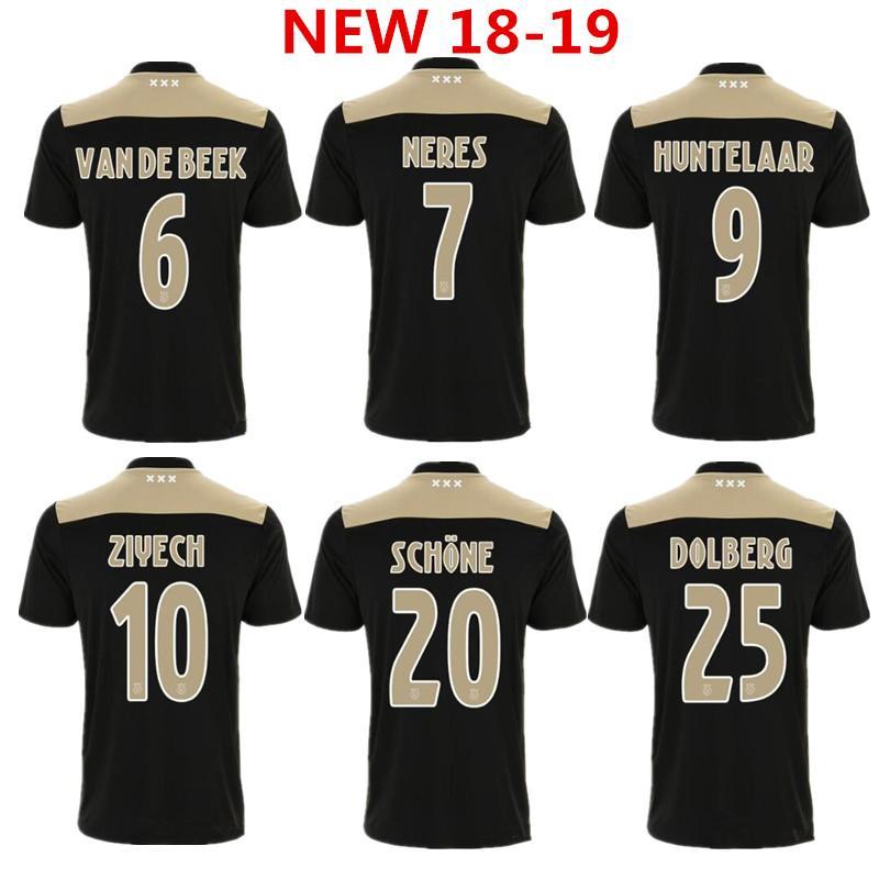 Thai Quality 2018 2019 Ajax Home Soccer Jersey KLAASSEN TRAORE MELIK ... 2731bca42