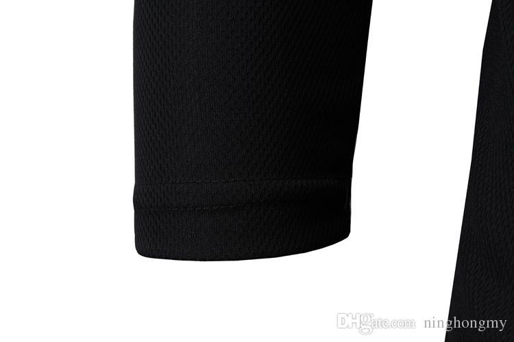 Fashion T Shirts for men Golden Dragon Head print t-shirt casual t shirt long sleeve crew neck tops tees Fashion tattoo pattern tshirt M-XXL