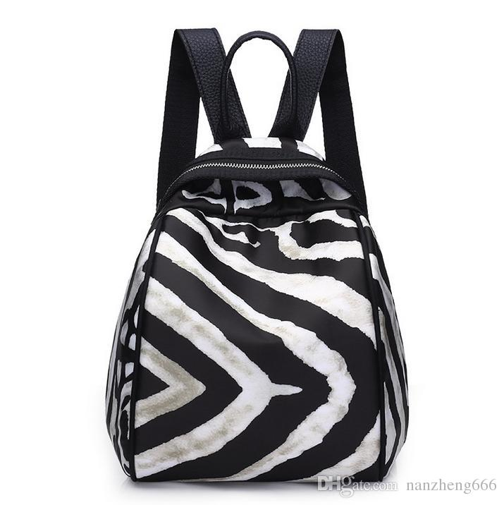 63ad8b59dcc5 2018 New Oxford Cloth Double Shoulder Bag