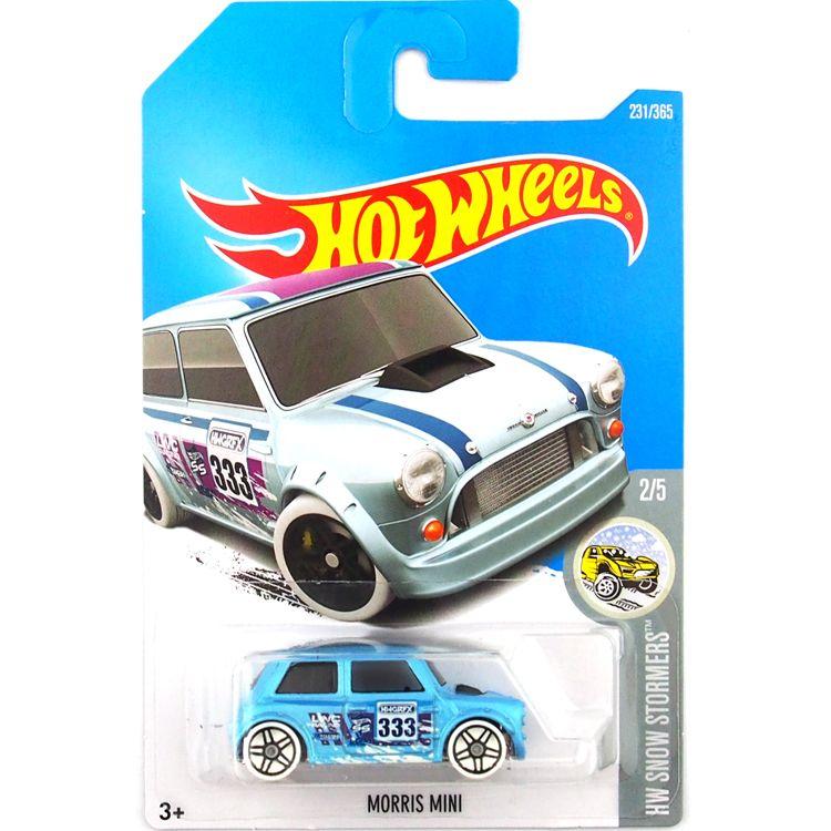 2019 Hot Wheels Morris Mini Blue Car Model Toy 231 From Qiaoming