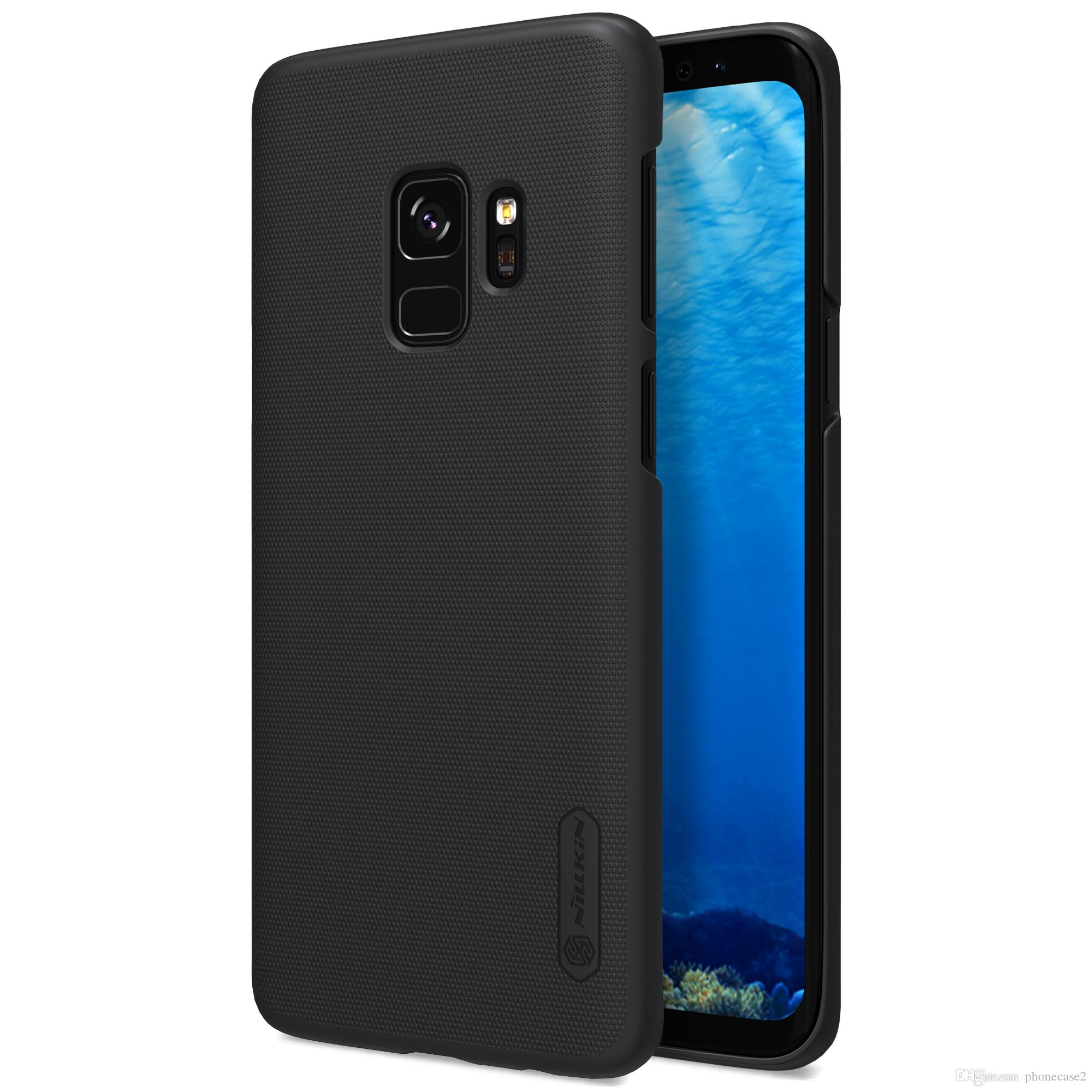 watch 610b2 31949 Case For Samsung Galaxy S9 S8 NILLKIN Super Frosted Shield back cover with  free screen protector and Retail package