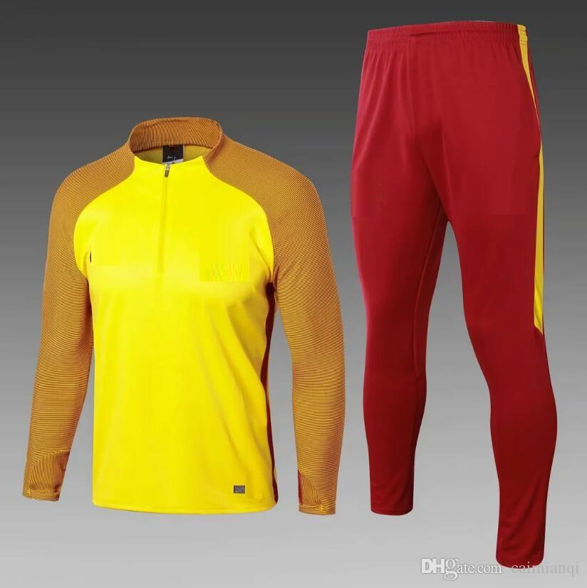 0cd43a0d159 Barcelonas 2019 New World Cup Tracksuit Soccer Jersey Training Suit Wear  Short Slevees Pants 2018 19 New Football Shirt Suit Online with   42.62 Piece on ...
