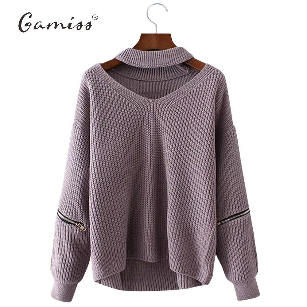 ea58ef59f83d 2019 Gamiss Winter Spring Women Sweaters Pullovers Casual Loose Knitted  Sweater Women Tricot Pullover Jumpers Oversized Mujer Sweater D1892001 From  Yizhan04 ...