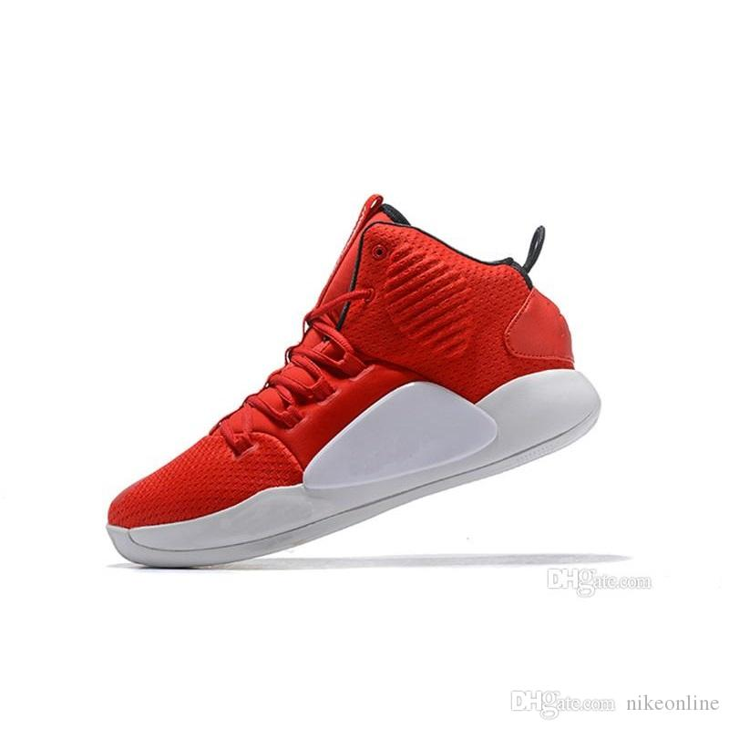 7333dcf39383 2019 Cheap New Mens Hyperdunks X 2018 Basketball Shoes Red White Kay Yow  Zoom Air Cushion Flight Sneakers Trainer Boot With Original Box For Sale  From ...