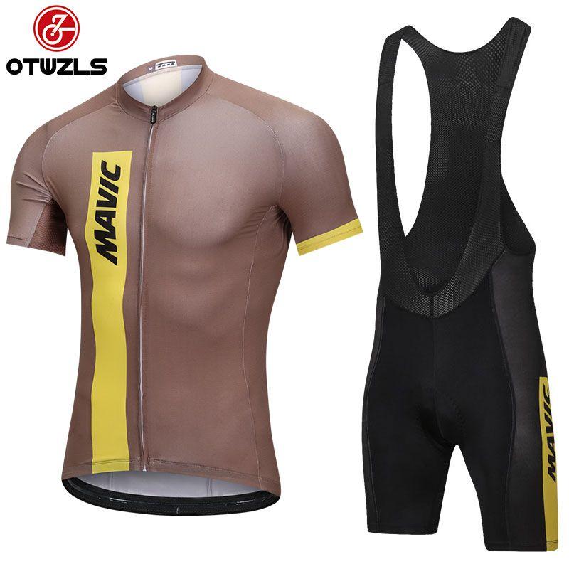 MAVIC MTB Cycling Jersey Set 2018 New Pro Team Mens Short Sleeve ... 5dfe28f80