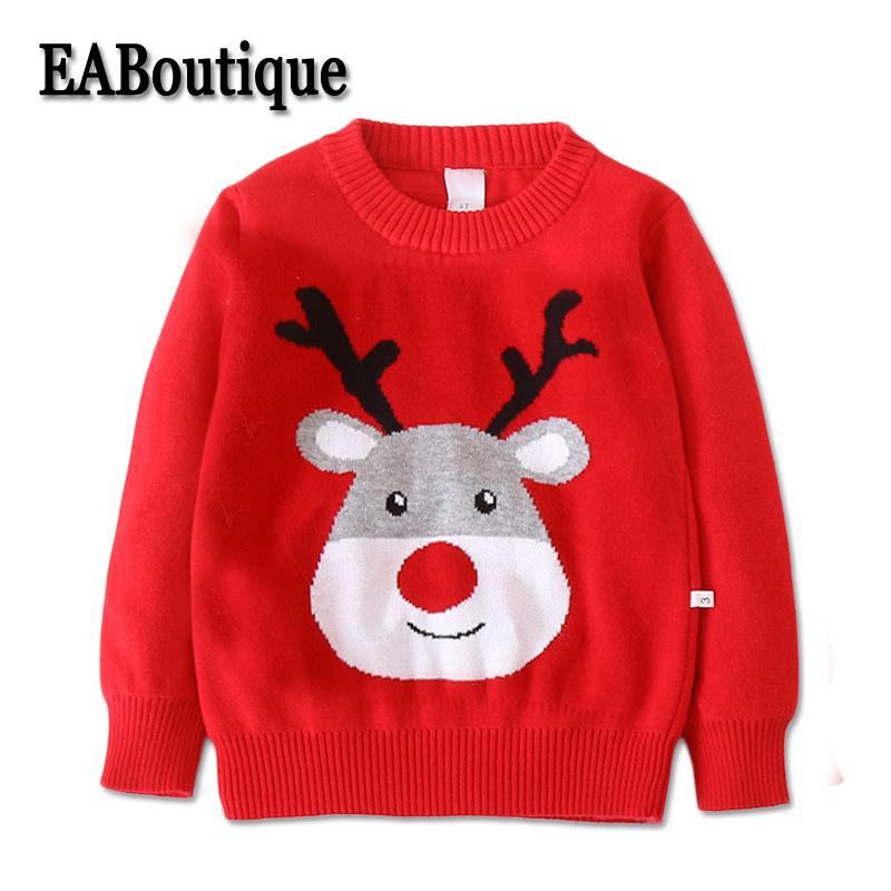 2af83e1d8 EABoutique Kid Cardigan Girls Winter Christmas Long Sleeve Fashion ...