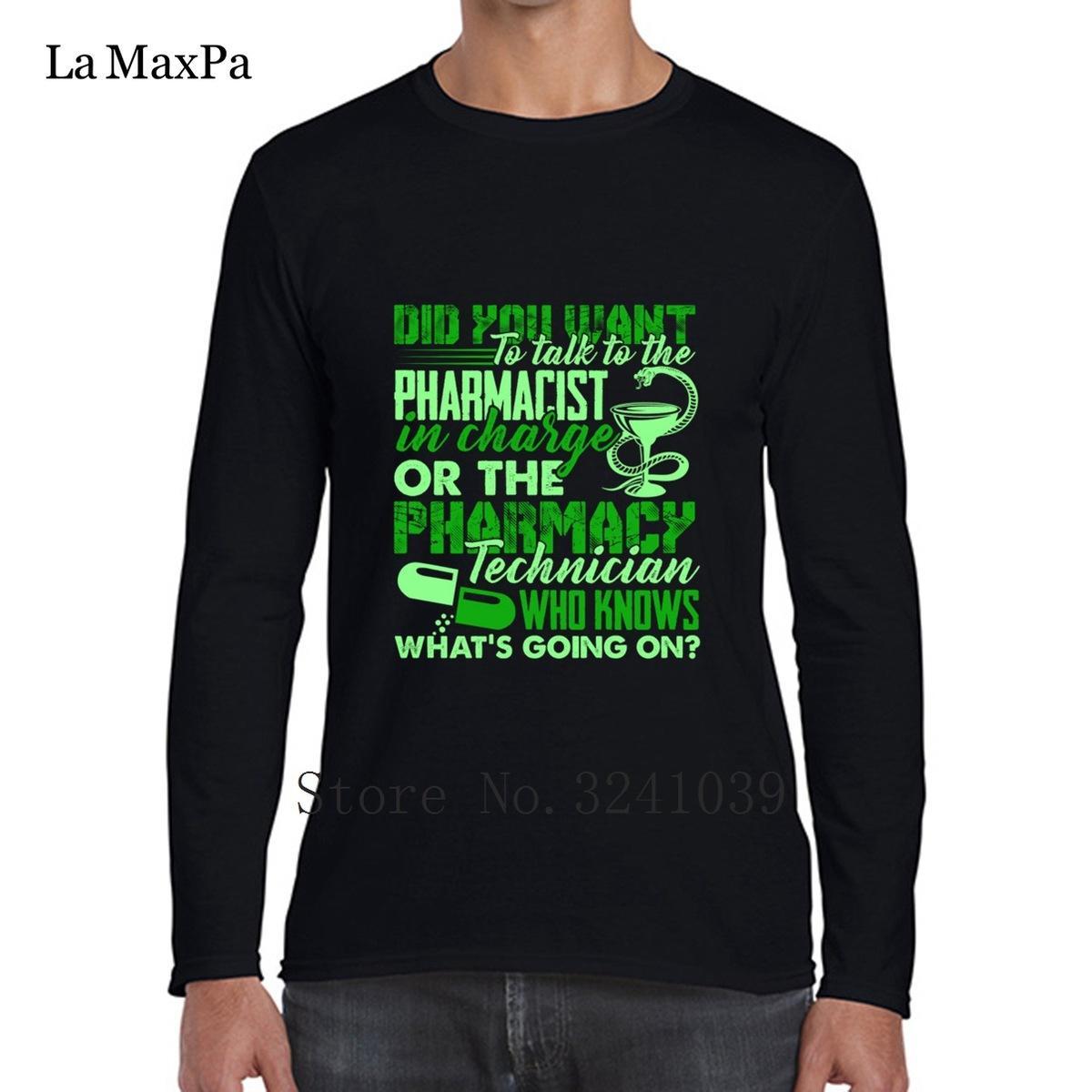 5b167e57 Printedized Latest Letter Pharmacy Technician T Shirt Men's Tee Shirt  Branded winter Men's T-Shirt Adult O-Neck Tshirt Pop Top