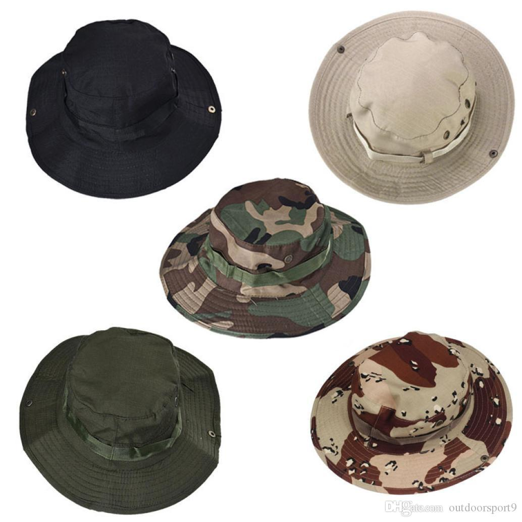 Bucket Hat Boonie Hunting Fishing Outdoor Wide Cap Brim MUnisex Perfect  Angel New Outdoor Camping Hunting Hat Camouflage Huntingfishing  Breathefreely ... b27fbad29e2