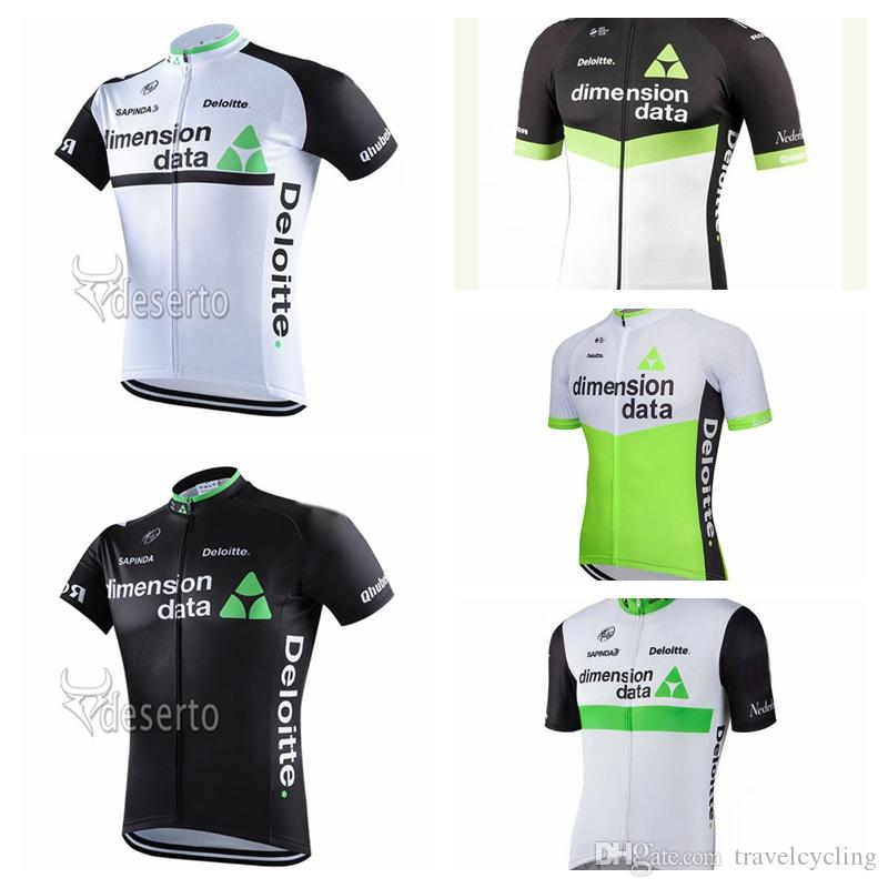 2018 Bicycle Clothing Summer Breathable DIMENSION DATA Cycling Jersey  Racing Sportswear Outdoor Quick Dry Short Sleeve Tops 92016Y Cycling Shirt  Cycle ... 65ae18baa