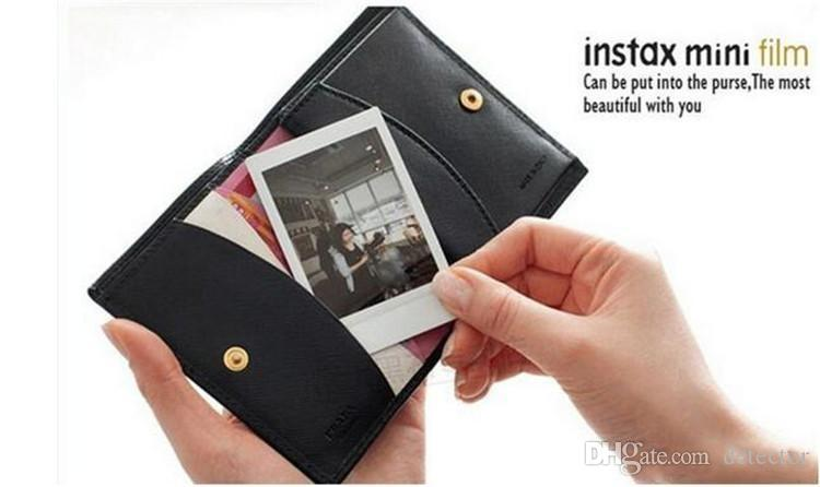 High quality New Instax White Film Intax For Mini 90 8 25 7S 50s Polaroid Instant Camera DHL free