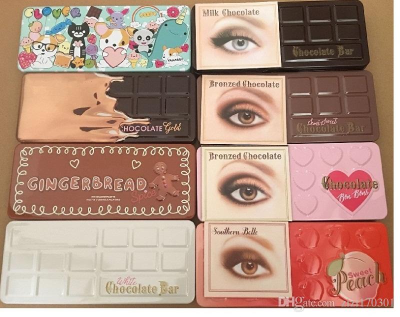 Gingerbread Spice Sweet Peach Makeup Eye Shadow Chocolate Bar Semi