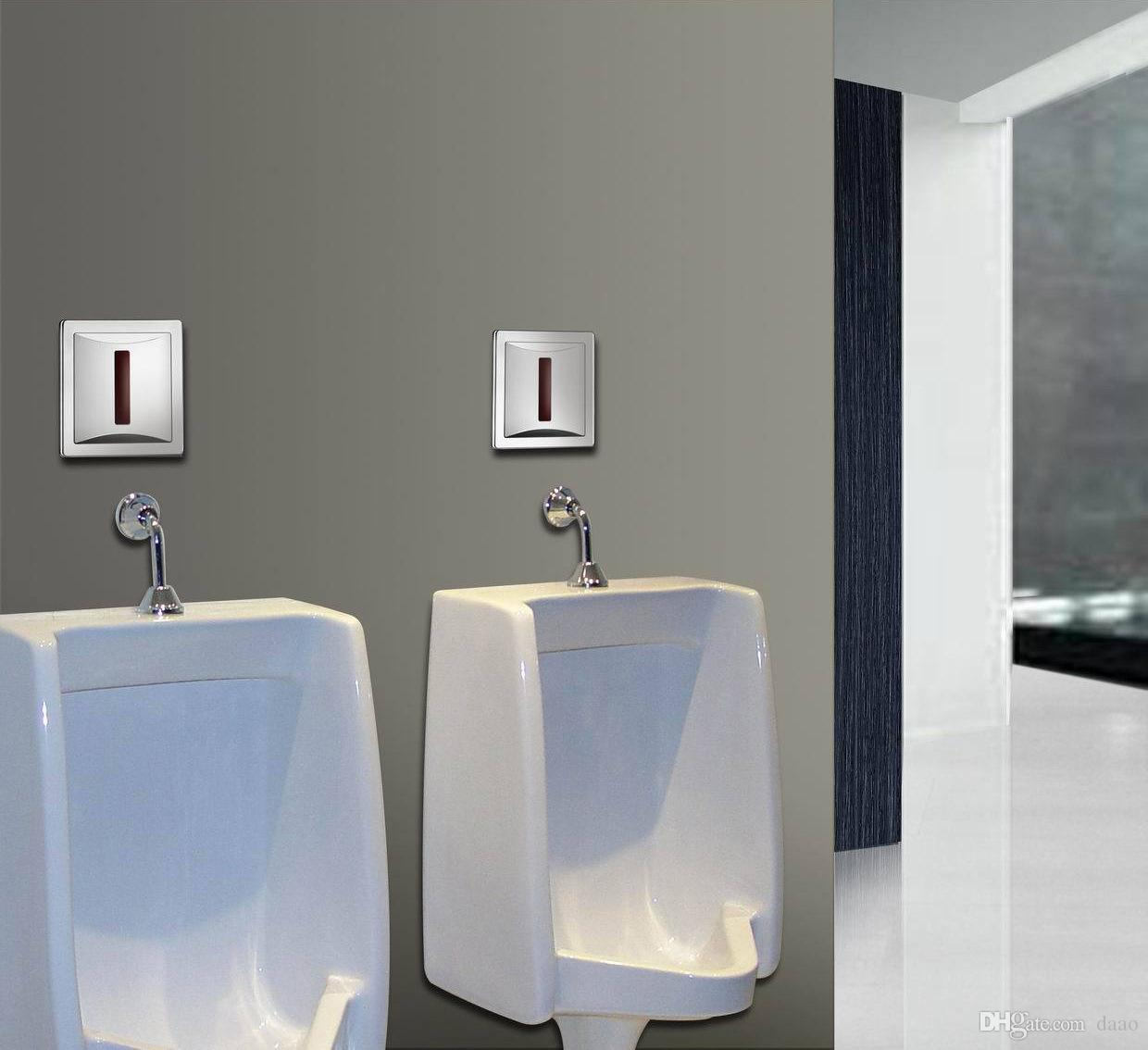 ABS concave and convex panel Automatic urination valve, school old age home station, toilet flushing valve