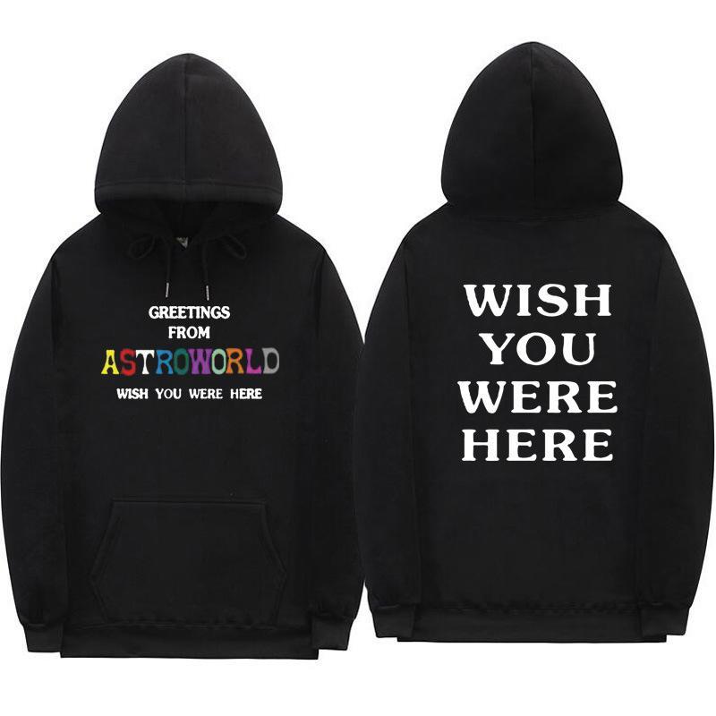 79a31bcd8d5 Fashion Astroworld Hoodie Mens High Quality Designer Sweatshirts Hip ...