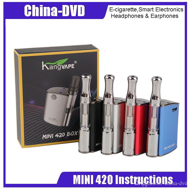 Original Kangvape Mini 420 Instructions Box Kit 400mah Battery Vaper