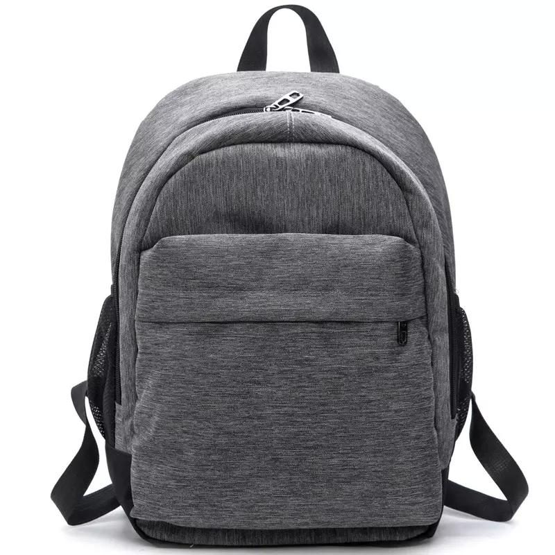 ec6352c773 Brand Designer Women Waterproof Canvas Backpacks Ladies Shoulder Bag  Rucksack School Bags For Girls Travel Gray Blue Laptop Bags Red Black  Hydration ...