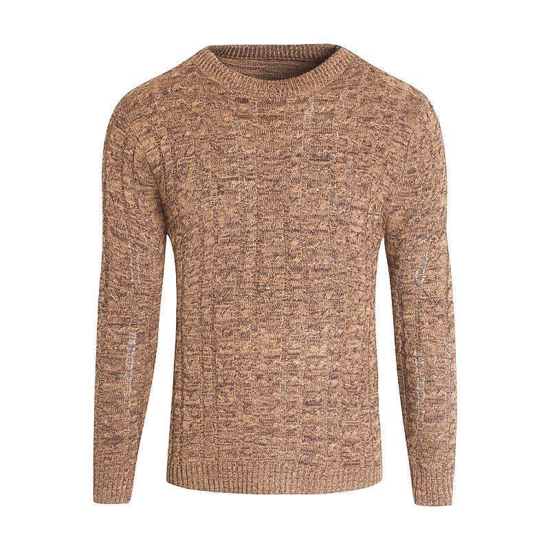 nuova collezione 64c7d a2448 Autunno Uomo Maglioni Lana Blend 3 Colori Knitted Abbigliamento di marca  Maglieria uomo Pullover Maglieria Taglie forti