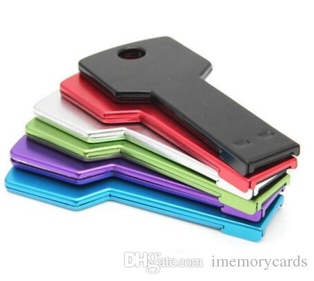 키 스타일 256GB 128GB 64GB USB 2.0 플래시 드라이브 메모리 스틱 펜 드라이브 디스크 pendrives 소매 패키지 무료 배송