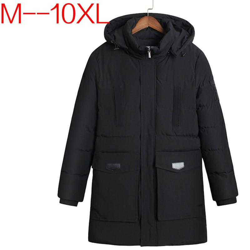 fb9af16b6ac92 2019 Plus Size 10XL 9XL 8XL 6XL 5XL Winter Parkas Men Down Jacket 2017  Thick Nature Warm Windbreaker Loose Original Male Coats BIG From Genguo