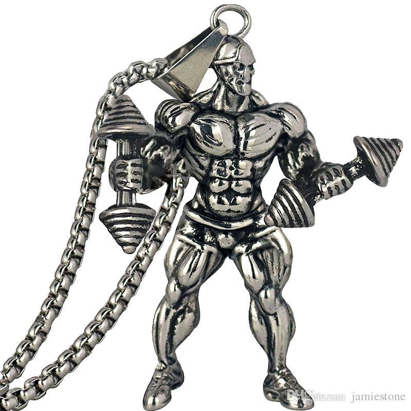 스파이크 스테인레스 스틸 쥬얼리 풍선 근육 남자 인형 남성 마네킹 NM021