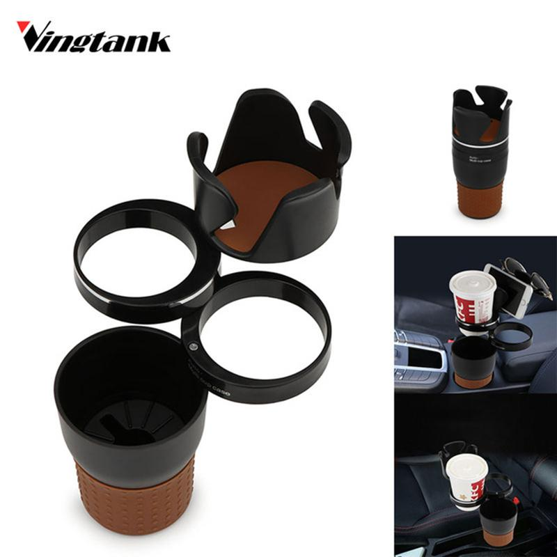 vingtank multifunction car cup holder storage box drink cup holder auto glasses car organizer. Black Bedroom Furniture Sets. Home Design Ideas