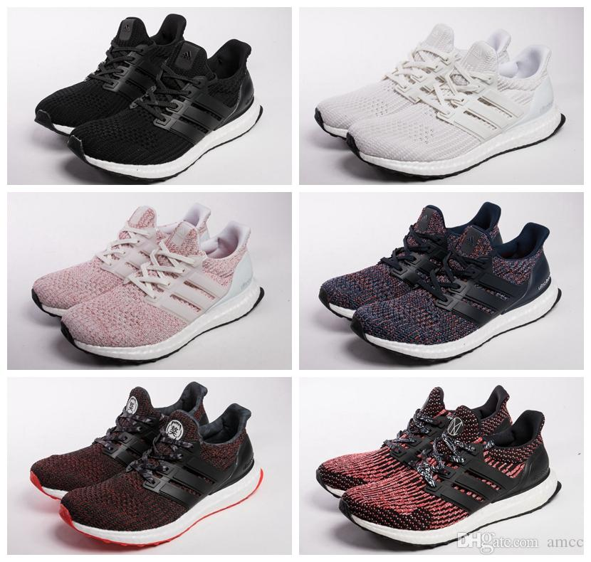 2018 Adidas Ultra Boost 4.0 Cny Multicolor Triple Black White Women Men  Running Shoes Sport Fashion Ultraboost Mesn Trainer Walking Shoe Running  Shoes Women ...