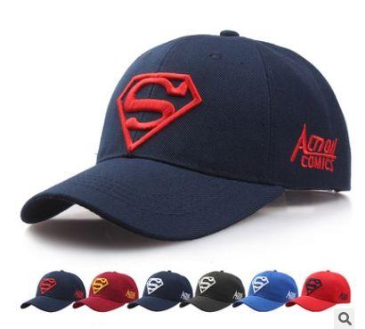 9f5b7802adc57 Bone Gorras Superman Cap Casquette Superman Baseball Cap Men Brand Women  Bone Diamond Snapback For Adult Touca Trucker Hat Cheap Hats Richardson Caps  From ...